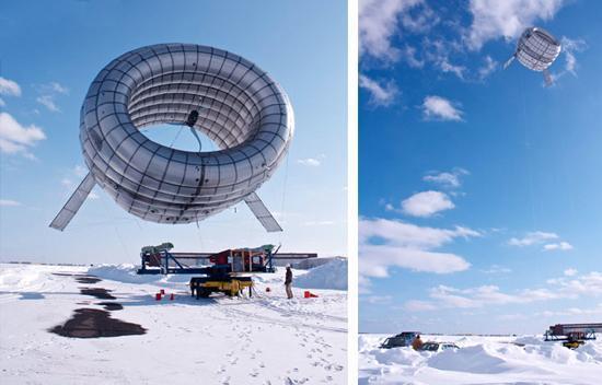 2 ième prototype de l'éolienne Altareos