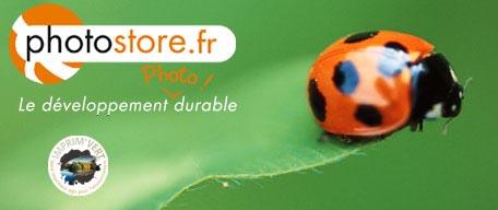 Photostore developement photo imprim vert